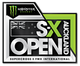 Monster Energy SX Open Auckland Logo