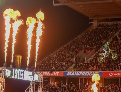 INTERNATIONAL S-X OPEN SUPERCROSS EVENT RETURNS TO AUCKLAND THIS NOVEMBER