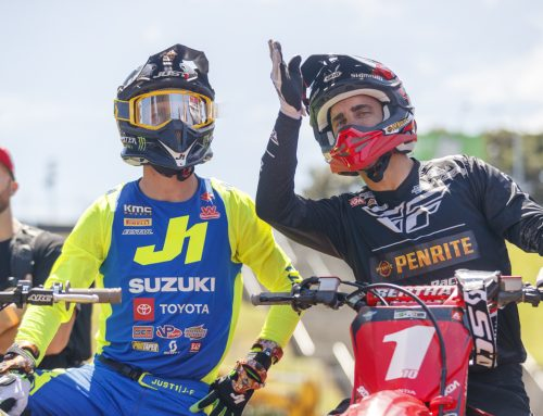 The fight for the S-X Open FIM Oceania Supercross Championship begins